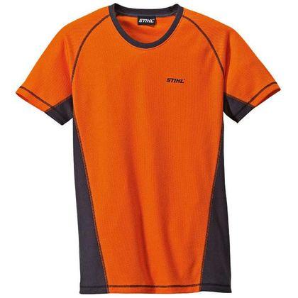 Футболка LOGGER, оранжевая, размер L